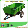Small Tractor 20HP를 위한 각자 Dumping Trailer