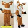 Costume северного оленя - взрослый талисман рождества размера
