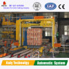 De productie van de Fabriek van de Machines van de Baksteen van de Klei met het Gebeëindigde Systeem van de Verpakking van de Baksteen