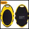 Carregador portátil do banco da potência 5000mAh solar para a nota móvel 2 da galáxia de Samsung do telefone de pilha 3 4 S3 S4 S5