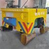 Aanhangwagen Van uitstekende kwaliteit van het Vervoer van de kabel de Spoel In werking gestelde Elektrische voor Fabriek en Pakhuis