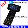 Сотовый телефон TV экрана сальто ротатабельный с характеристикой трансформатора (K99)