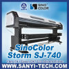1.8m Inkjet Printer com Epson Dx7 Head Sinocolor Sj-740 (1440dpi)