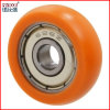 Garderoben-Wandschrank einzelne PU-Rad-Schiebetür-Rolle