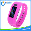 Bracelet intelligent fait sur commande de Bluetooth de montre de silicium/silicones USB de bracelet de forme physique/sport de charme