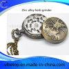 Kreativer Zink-Legierungs-Pocket Uhr-geformter Kraut-Schleifer