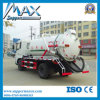 Camion d'aspiration d'eaux d'égout de pompe à eau d'égout de HOWO Sinotruk 4X2