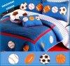 Diffusion d'édredon et de lit de coton de literie de 4 enfants de PCS
