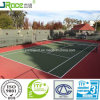 Новый начатый Water-Based теннисный корт для школы