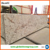 Bancadas de Alaska White Granite Kitchen com Eased Edge