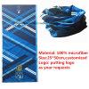 Bandanna UV promotionnelle de cuir épais de polyester de protection de logo fait sur commande de produit d'OEM d'usine