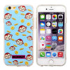 iPhone 5/5/6plusのためのMonkeyの少し土Resistant TPU Phone Case