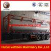 高品質40cbm Liquified Propane Gas LPG Tanker Semi Trailer