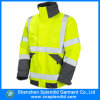 Одежды 100% безопасности куртки видимости хлопка оптовой продажи фабрики одежды высокие