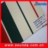 PVC 1.02-3.2m di Fire Retardance Coated Polyester Tarpaulin per Truck Cover