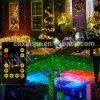 De rode en Groene Bewegende Laser van de Tuin van Acht Bloem voor Kerstmis