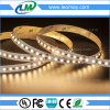 El alto brillo SMD2835 16.4FT/roll calienta la luz blanca del LED con 600LEDs