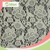 Nylon del filo di ordito e tessuto di lavoro a maglia del merletto del cotone ricamati merletto netto