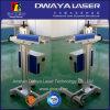 Faser-Laser-Markierungs-Maschinen-passende Zeile Arbeit