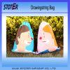 防水カスタム安い印刷されたポリエステルナイロンドローストリング袋