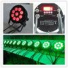 9X15W Rgbaw IP65 LED impermeable al aire libre PAR64 para la boda