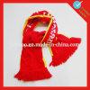 Напечатанный кубком мира шарф соотечественника футбола