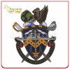 Moneta personalizzata di sfida del metallo tagliata smalto molle di simbolo militare