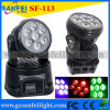 Sale chaud 7PCS x 10W 4in1 DEL Stage Light