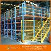 Système de défilement ligne par ligne de mezzanine d'étage de plaque en acier