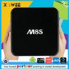 Cadre intelligent de Bluetooth 4.0 à deux bandes androïdes TV de WiFi de Media Player Kodi 2.4GHz 5.8GHz de faisceau de quarte d'Amlogic S812 de cadre de M8s TV