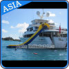 Yacht Slide Inflatables Water Games / Customized Inflatable Slides para Yacht / Cruiser, High Water Slide on Sea