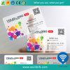 Kundenspezifische transparente PVC-Visitenkarte