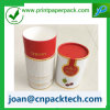 Rectángulo de papel modificado para requisitos particulares de la pestaña del tubo redondo cosmético del bigudí