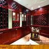 Armário de armazenamento Walk-in luxuoso com cremalheira do vinho (XS9-039)