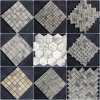 Polished Calacatta Cold 또는 Bianco Venato Carrara Mosaic Bathroom/Flooring/Walling Tile