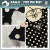 Doppelte Seite druckte Habijabi Chiffon- geklebtes Gewebe für Frauen-Kleid