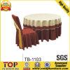 Праздничная ткань таблицы и крышка стула