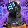 Del sonido mini 70W RGBW LED pista móvil del control