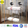 Stanza da bagno Shower Caddy Basket Organizer Shelf Rack con Patented Suction Cup