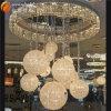 El más nuevo lámpara pendiente de la lámpara cristalina grande Euro araña de cristal