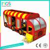 Het Bed van de Trampoline van het Thema van de bus voor Kinderen