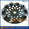 Истирательный абразивный диск чашки инструмента для бетона и камня