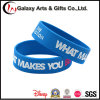 Customized Debossed Printed 100% Silicone Wristband / Wrist Band