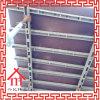 Sistema de acero concreto del andamio del encofrado de la losa