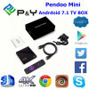 Neuester Pendoo MiniRk3328 1GB/8GB Android 7.1 Fernsehapparat-Kasten