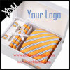100% conjunto hecho a mano tejido telar jacquar del lazo de seda del regalo de los hombres