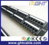 Painel de Patch UTP Cat6e 48 Port