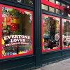 A estática autoadesiva removível do indicador da loja da etiqueta do Natal adere-se etiqueta