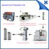 Poder de estaño del aerosol del aerosol de Autoamtic que hace la cadena de producción de máquina