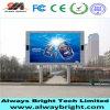 Fábrica P10 LED al aire libre de China que hace publicidad de la pantalla